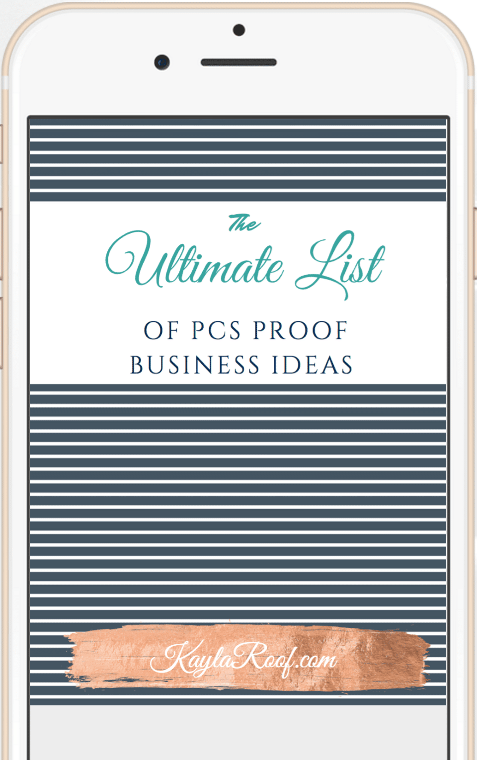 The Ultimate List of PCS Proof Business Ideas